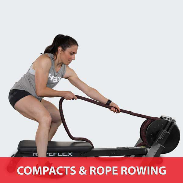 COMPACT ROPE TRAINERS AND ROPE ROWING